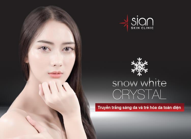 Truyền trắng sáng da Snow White tại thẩm mỹ SIAN