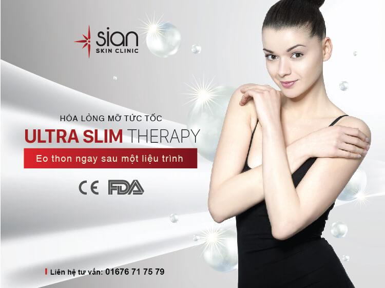 Nguyên tắc vàng giảm cân bằng Ultra Slim Therapy tại SIAN