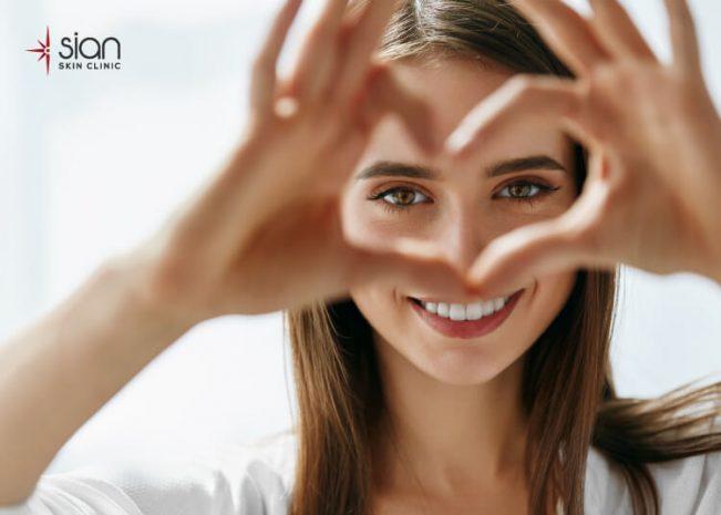 chống lão hóa vùng mắt bằng công nghệ iPRF tại SIAN