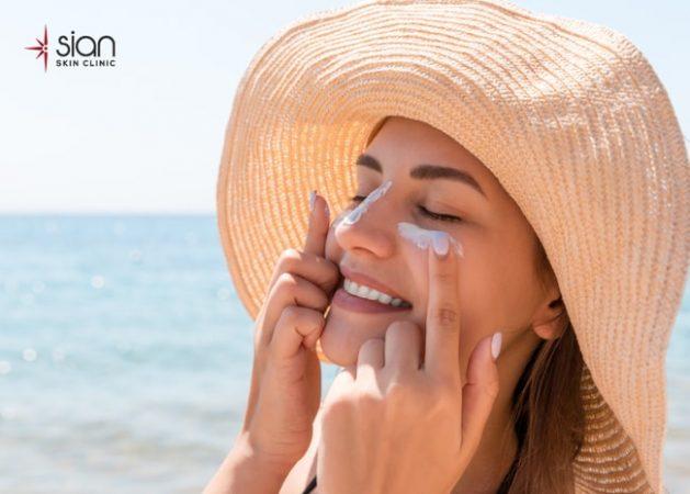 Ngăn ngừa nám da và tàn nhang - sử dụng kem chống nắng
