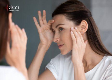 ngăn ngừa vết nhăn ở mắt bằng mỹ phẩm đã đủ chưa